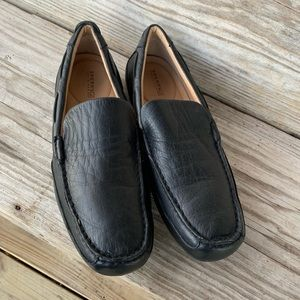 Sperry Top Sider black slip-on loafers  10.5